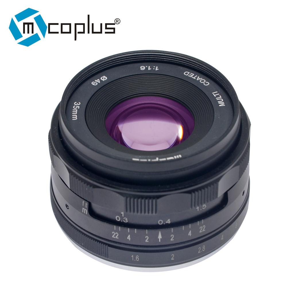 Объектив Mcoplus 35 mm F/1.6 MC для Sony (E-mount)
