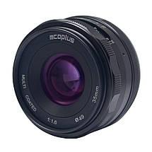 Объектив Mcoplus 35 mm F/1.6 MC для Sony (E-mount), фото 3