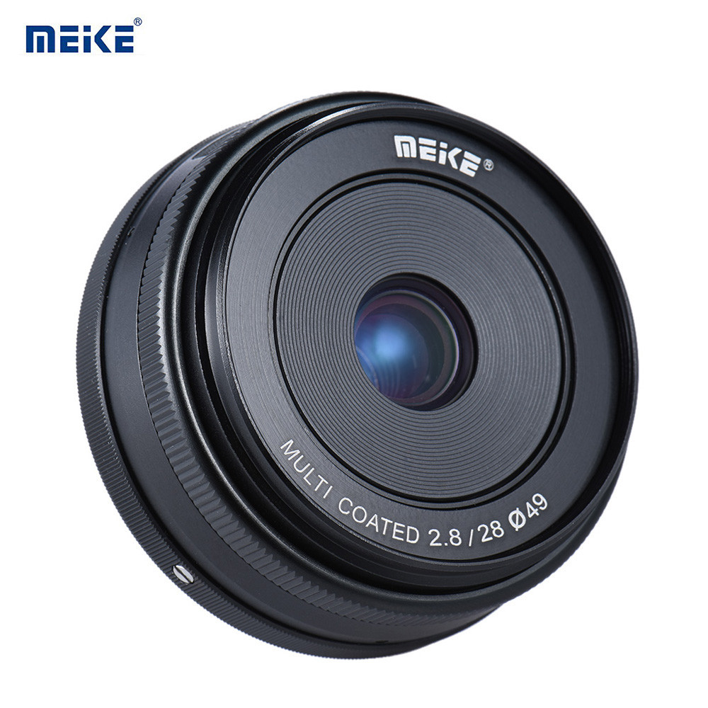 Объектив MEIKE 28 mm F/2.8 MC для Canon (EF-M - mount (EOS-M))