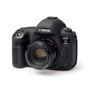 Захисний силіконовий чохол для фотоапаратів Canon EOS 5D Mark IV - чорний