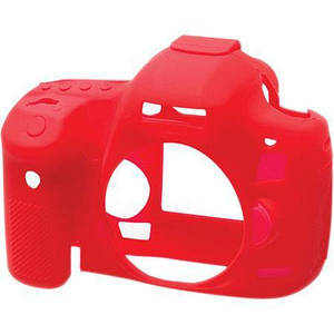 Захисний силіконовий чохол для фотоапаратів Canon EOS 5D Mark III, 5Ds, 5Dr - червоний
