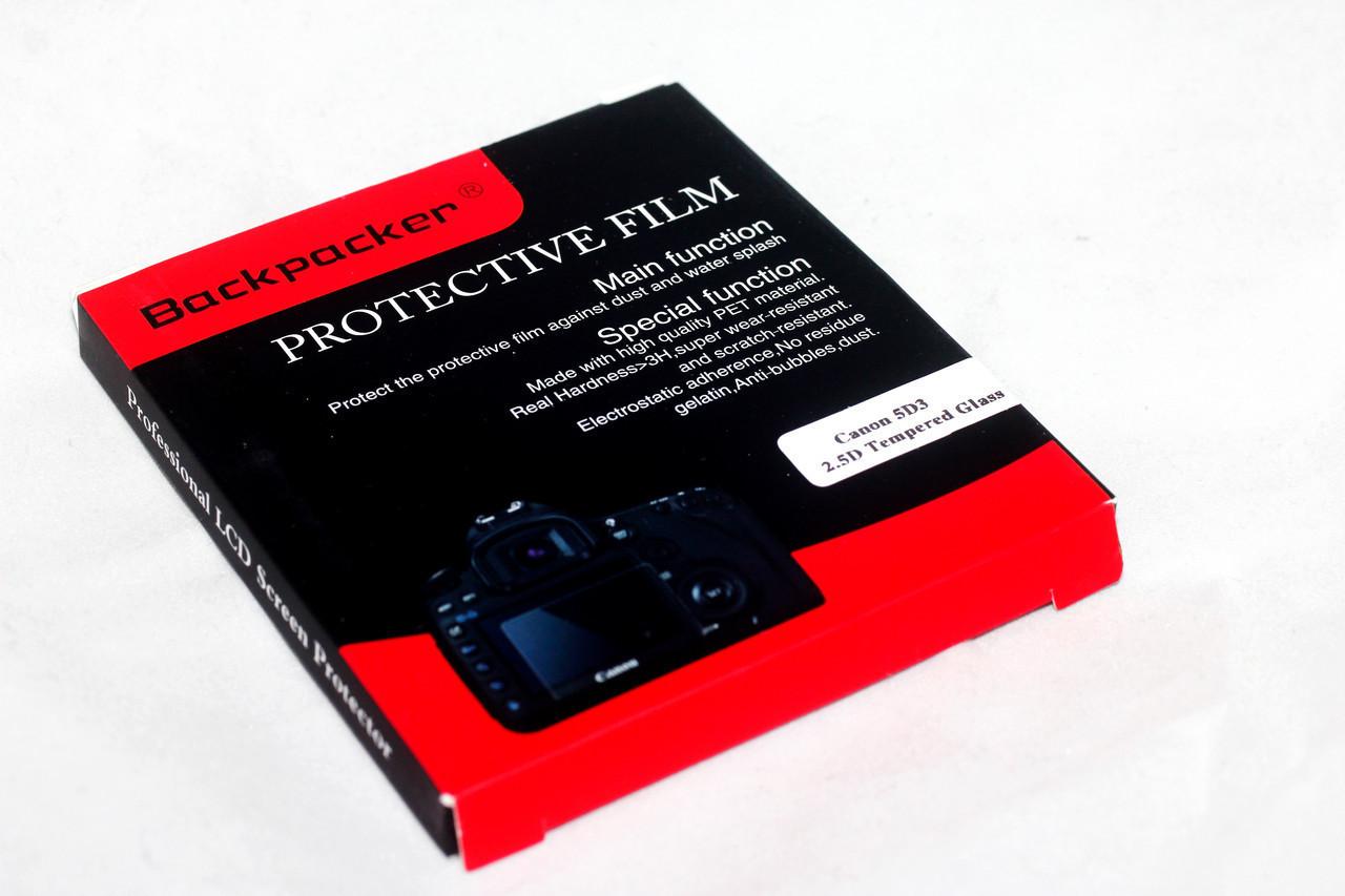 Защита LCD экрана Backpacker для Sony Cyber Shot DSC-HX30, HX30V, WX9, HX200, W670, W630, WX100 - стекло