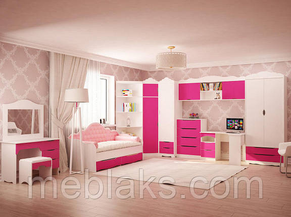 """Детская спальня  """"Италия"""" Комплект: все элементы, фото 2"""