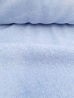 Пальтовая ткань Букле голубого цвета, фото 1