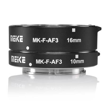 Макрокольца автофокусные для фотокамер Panasonic и Olympus (байонет Micro 4/3) Meike MK-P-AF3A, фото 2