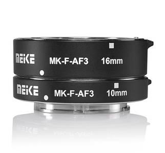 Макрокольца автофокусные для фотокамер Panasonic и Olympus (байонет Micro 4/3) Meike MK-P-AF3A