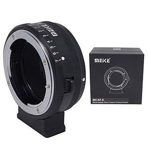Адаптер (переходник)  Meike MK-NF-E (объектив Nikon на камеру Sony (E-mount) - беззеркалки