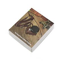 Кожаный футляр, чехол Shoot для камер GoPro Hero 5, 6, 7 (код XTGP391) - коричневый, фото 3