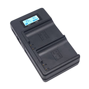 Зарядное устройство Mcoplus DH-E17 с USB для 2-х аккумуляторов Canon LP-E17