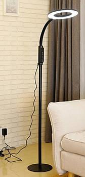 Торшер  91965-16  LED 16W  1500мм  черный