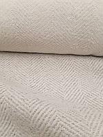 Шерстяная пальтовая ткань в ёлочку, фото 1