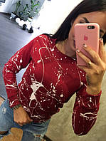 Модный женский свитшот хлопок Турция
