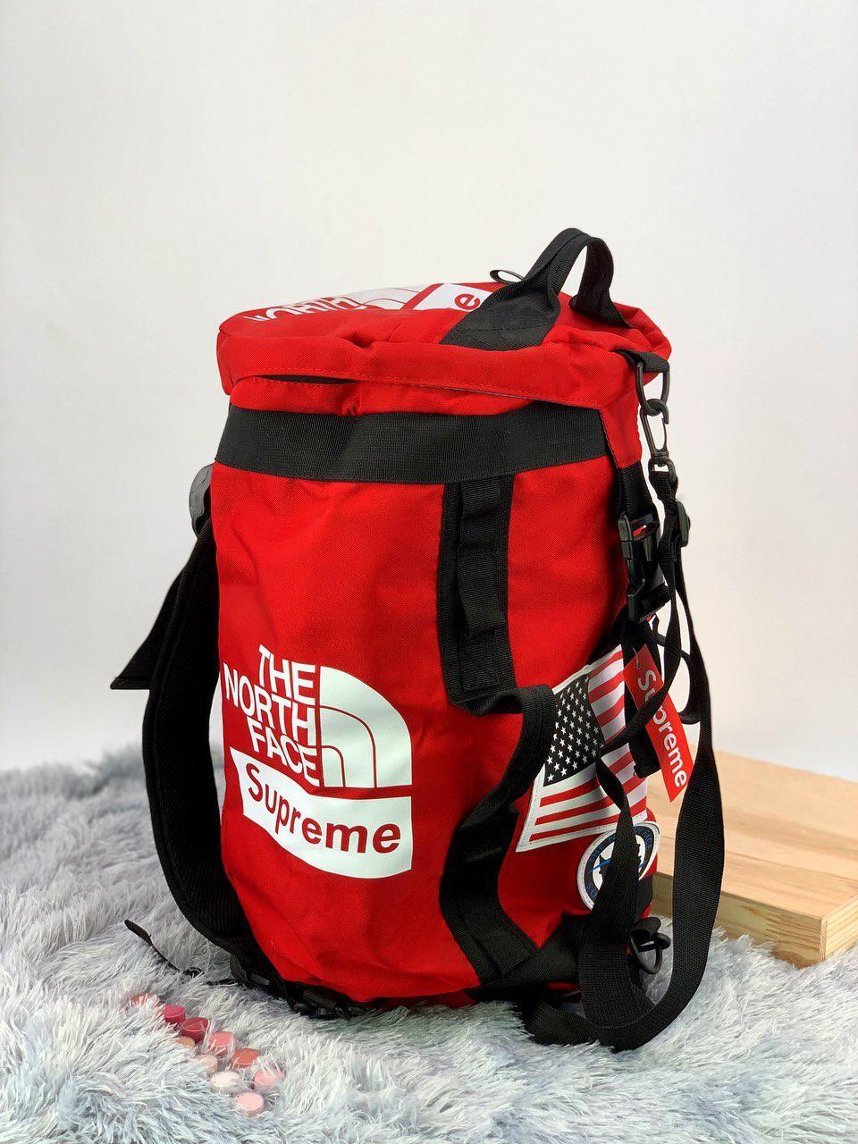 Рюкзак в стиле The North Face x Supreme
