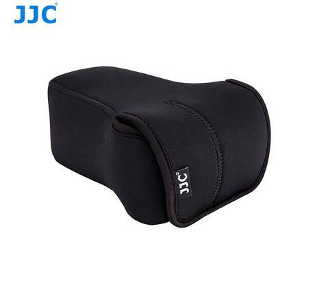 Защитный футляр - чехол JJC OC-F3BK для FujiFilm X-M1, X-T10, X-T20, X-A1, X-A2, X-A3 с объективом 50-230mm, фото 2