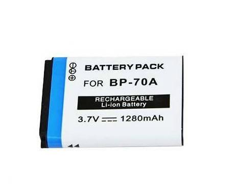 Аккумулятор BP70A (BP-70A, BP-70EP, EA-BP70A, EA-BP70A, SLB-70A) для камер SAMSUNG - 1280 ma, фото 2