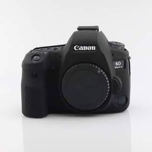Захисний силіконовий чохол для фотоапаратів Canon EOS 6D Mark II - чорний
