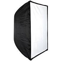 Софтбокс (softbox), рассеиватель зонтичного типа 50 х 70 см, фото 2