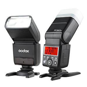 Вспышка для фотоаппаратов FujiFilm - GODOX TT350F с TTL и HSS и встроенным синхронизатором