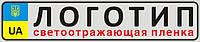 """Автомобильный номер """"ЛОГОТИП"""""""