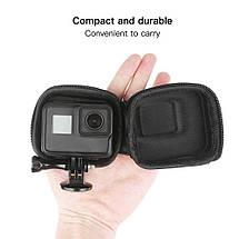 Кейс, футляр для экшн-камер размер (8.8 х 7.7 х 4.5) для Gopro 5, 6, 7(код № XTGP521), фото 3