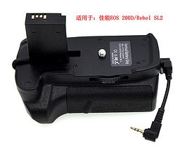 Бустер BG-1Y (аналог) батарейный блок для Canon EOS 200D, Canon Rebel SL2, фото 3