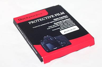 Защита LCD экрана Backpacker для Sony A58, A55, DSC-WX60, DSC-W730 - закаленное стекло