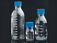 Склянки з дозатором для зберігання розчинів, реактивів
