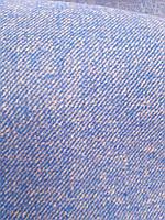 Шерстяная пальтовая двухсторонняя ткань (электрик)
