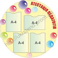 Стенд Атестація педагогів (70807)