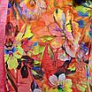 Блуза атласная свободного кроя рр 52,54,56,58,60, фото 3