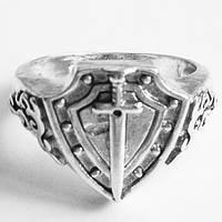 """Кольцо перстень """"Меч"""" символ мужества. Размер 19."""