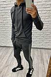 Мужской спортивный костюм / двунитка / Украина 47-1214, фото 4