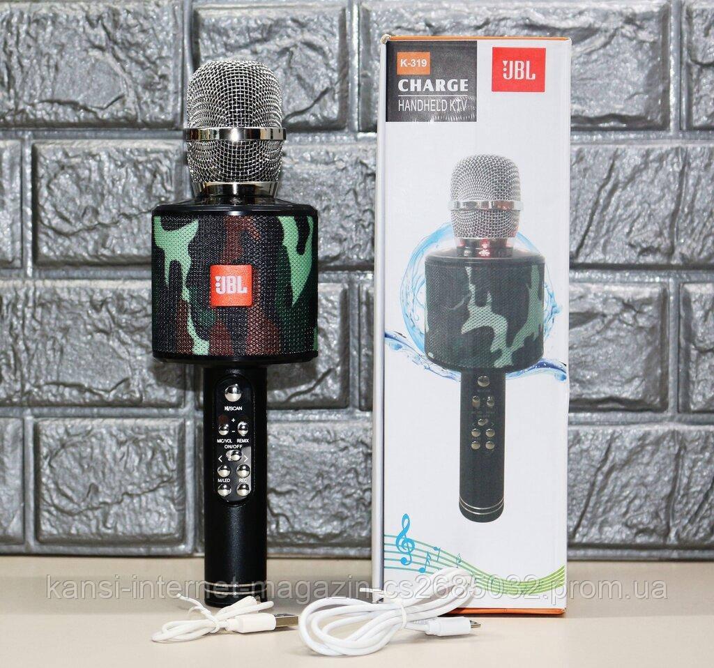 Бездротовий мікрофон караоке UBL K319, мікрофон з вбудованою колонкою