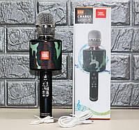 Бездротовий мікрофон караоке UBL K319, мікрофон з вбудованою колонкою, фото 1