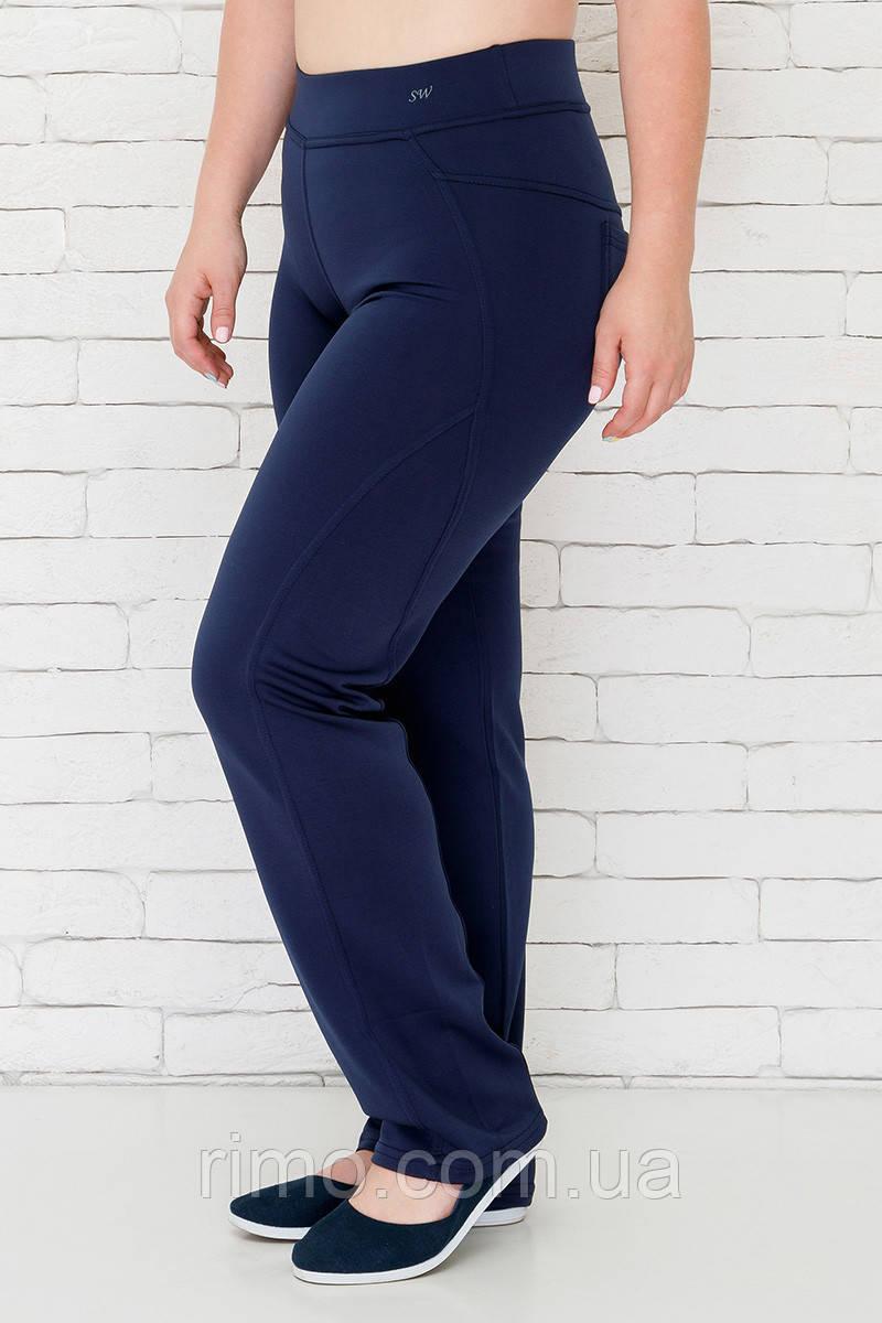 Спортивні штани великого розміру №140 темно-синій