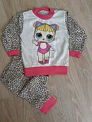 Весенняя пижама для девочки опт
