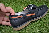Туфли мокасины детские кожаные черные р32-37, фото 3