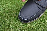 Туфли мокасины детские кожаные черные р32-37, фото 7