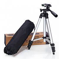 Штатив для фотоаппарата и телефона Tripod 3110 Black