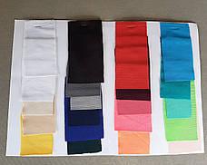 Стрейч чохол на стіл 80/110 Білий з щільної тканини Спандекс, фото 3