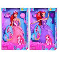 Кукла DEFA 8188, 2 цвета, аксессуары, в кор-ке, 20-32,5-6см