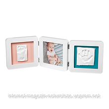 Рамка для фото Baby Art Double Print Frame белая