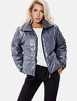 Стеганая женская куртка-oversize