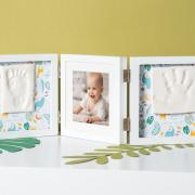 Рамка для фото Baby Art Double Print Frame Стиль белая, фото 2