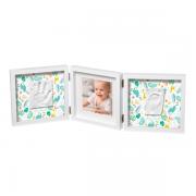 Рамка для фото Baby Art Double Print Frame Стиль белая, фото 3