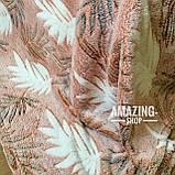 Покривало плед з бамбукового волокна ( мікрофібра) Розмір 160*200 див., фото 3