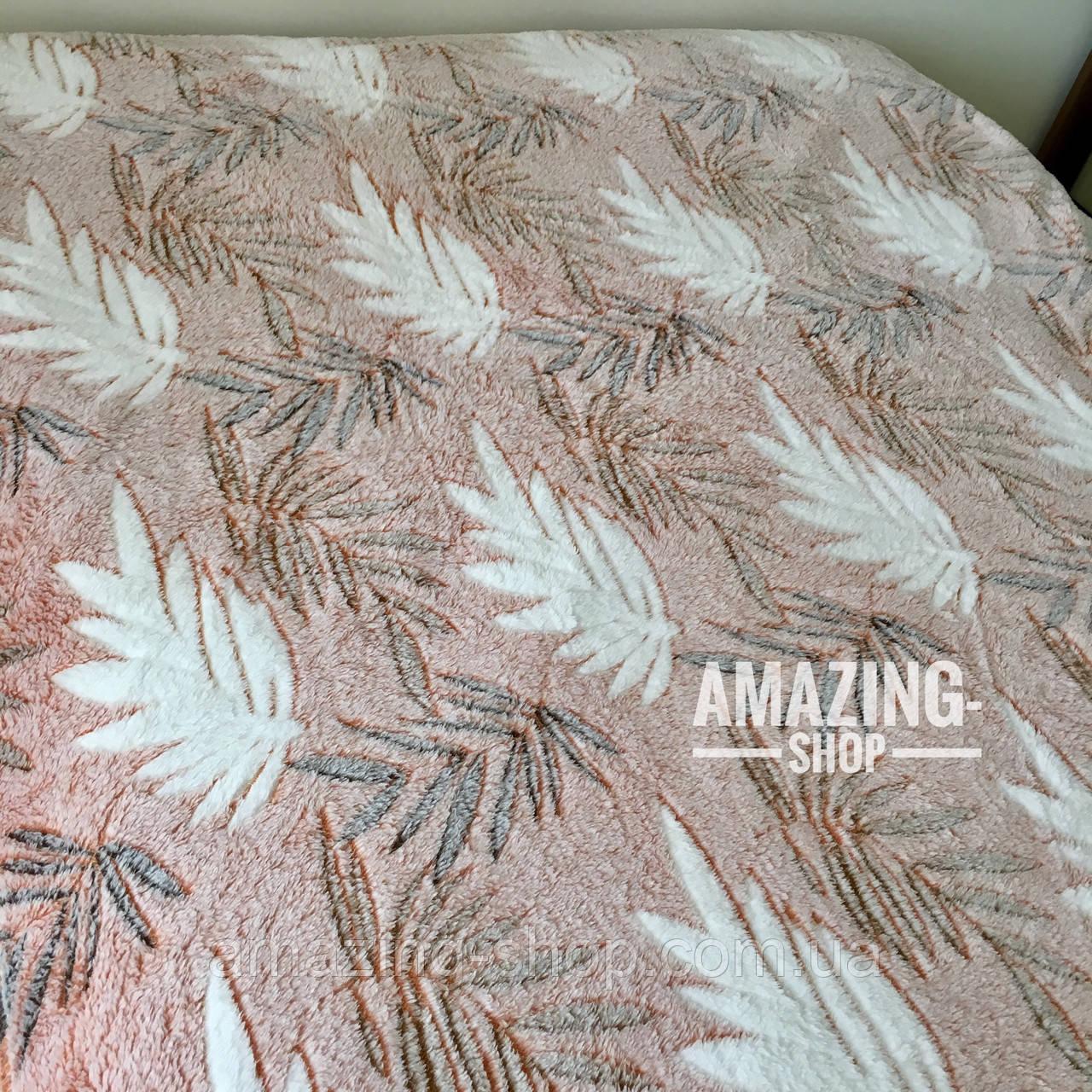 Покривало плед з бамбукового волокна ( мікрофібра) Розмір 160*200 див.