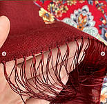 Весеннее пробуждение 1874-6, павлопосадский платок шерстяной  с шелковой бахромой, фото 6