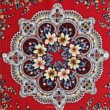 Весеннее пробуждение 1874-6, павлопосадский платок шерстяной  с шелковой бахромой, фото 4