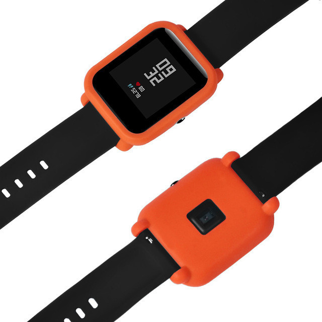 Чохол силіконовий для Xiaomi Amazfit Bip на весь корпус Orange (20244)